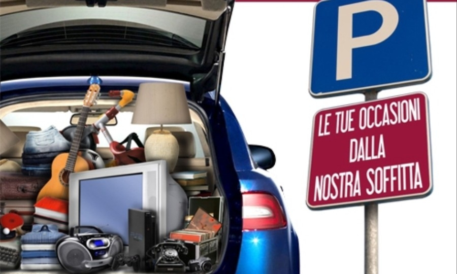 Car Boot Sale al  Market Da Vinci