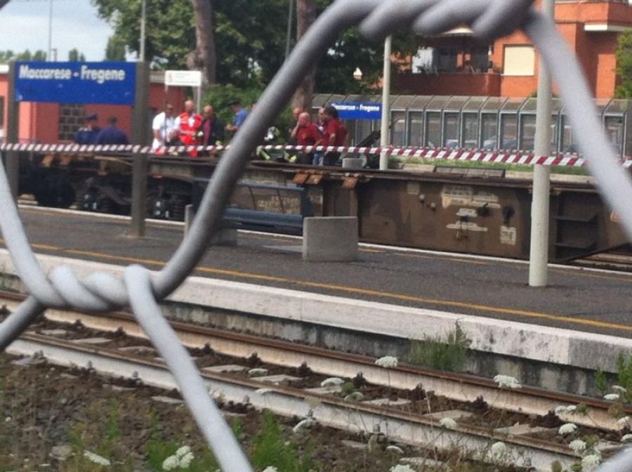Si butta sotto il treno a Maccarese
