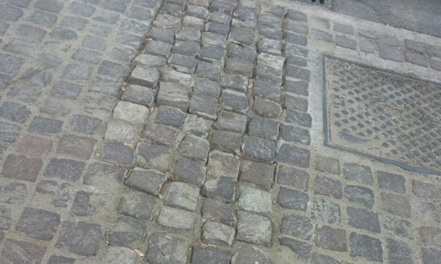 Ripristino marciapiedi, un optional
