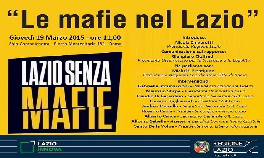 Mafie nel Lazio, è allarme anche su Fiumicino