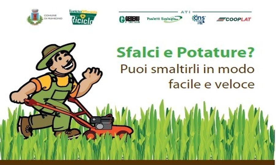 Sfalci e potatura, come smaltirli