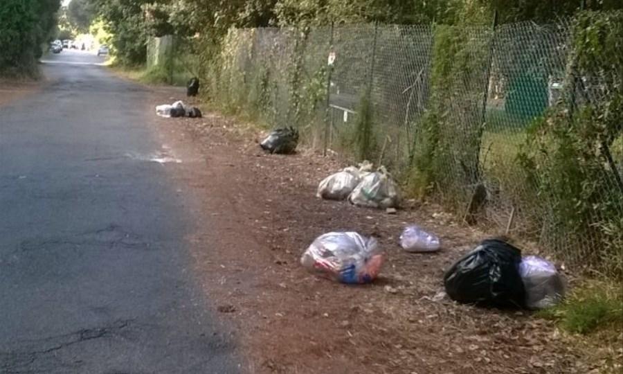 Abbandono rifiuti, controlli e multe