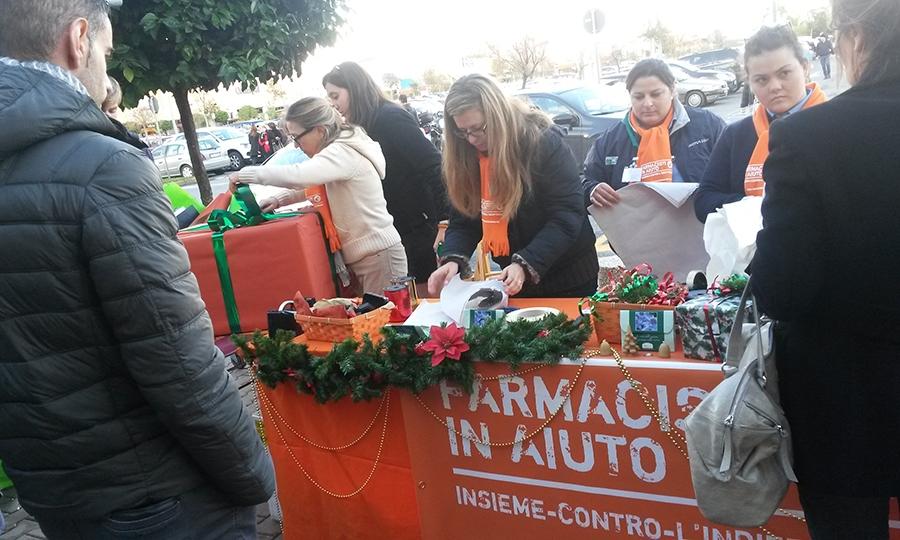 Farmacisti in aiuto, gli eventi svolti a dicembre
