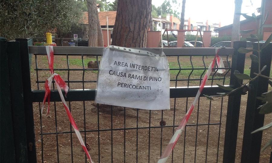 Asilo Marchiafava, bambini senza giardino