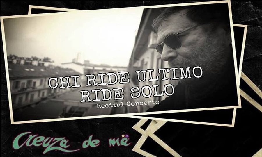 """Chi ride ultimo ride solo"""