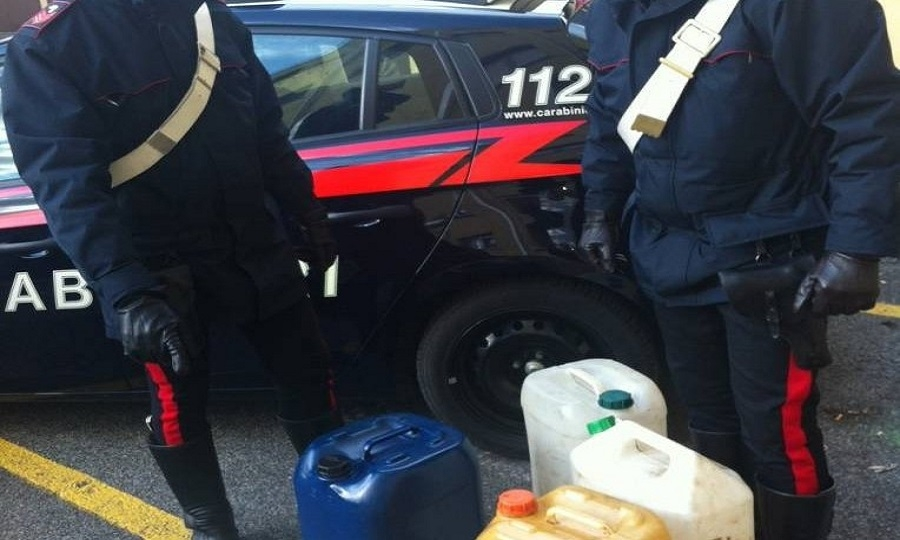 Maccarese, tentato furto sventato dai carabinieri