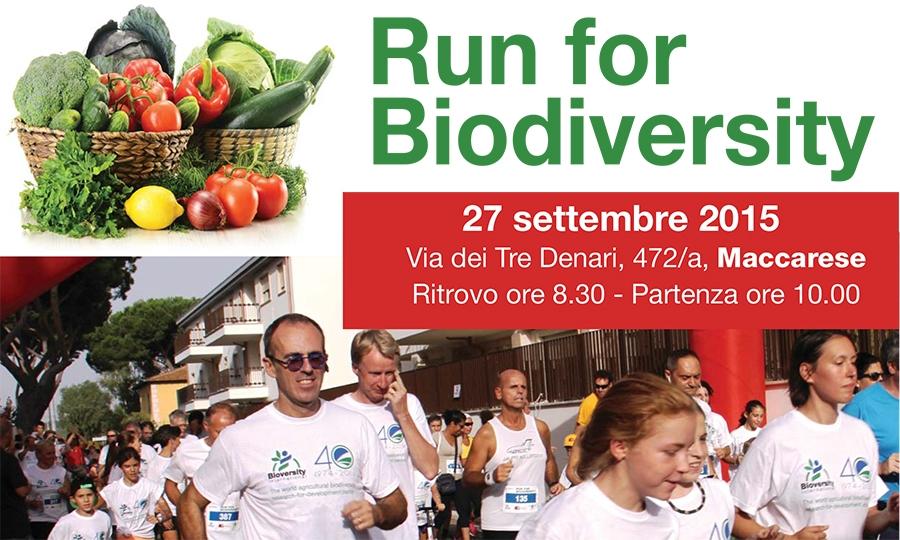 Run for Biodiversity il 27 settembre