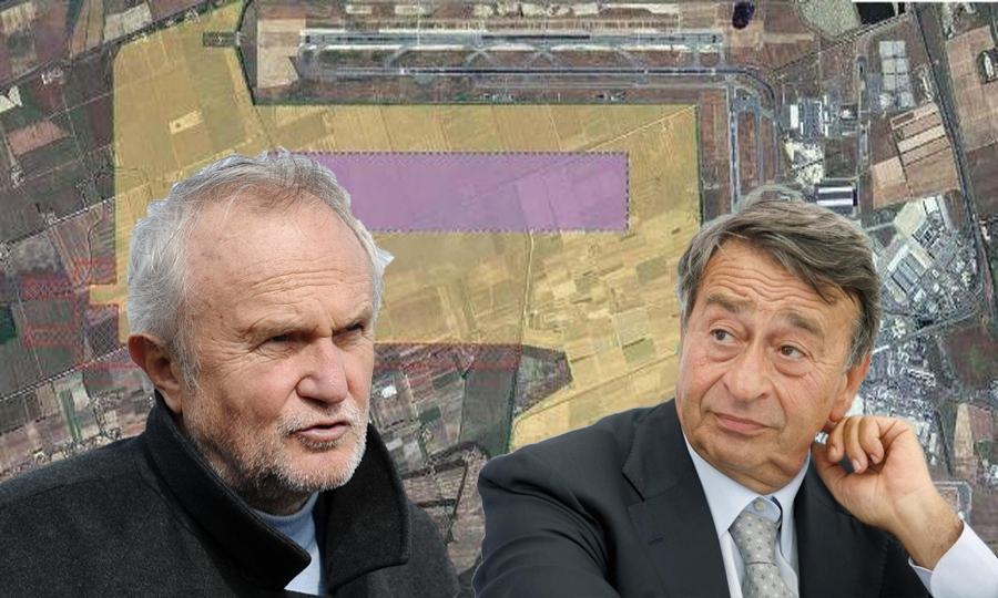 Raddoppio aeroporto, scontro Montino-Riggio