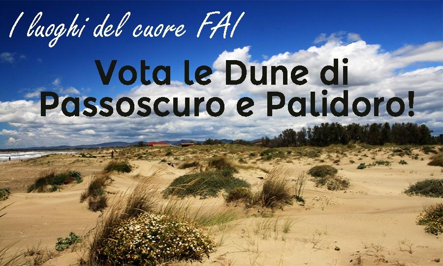 Vota le dune di Palidoro e Passoscuro
