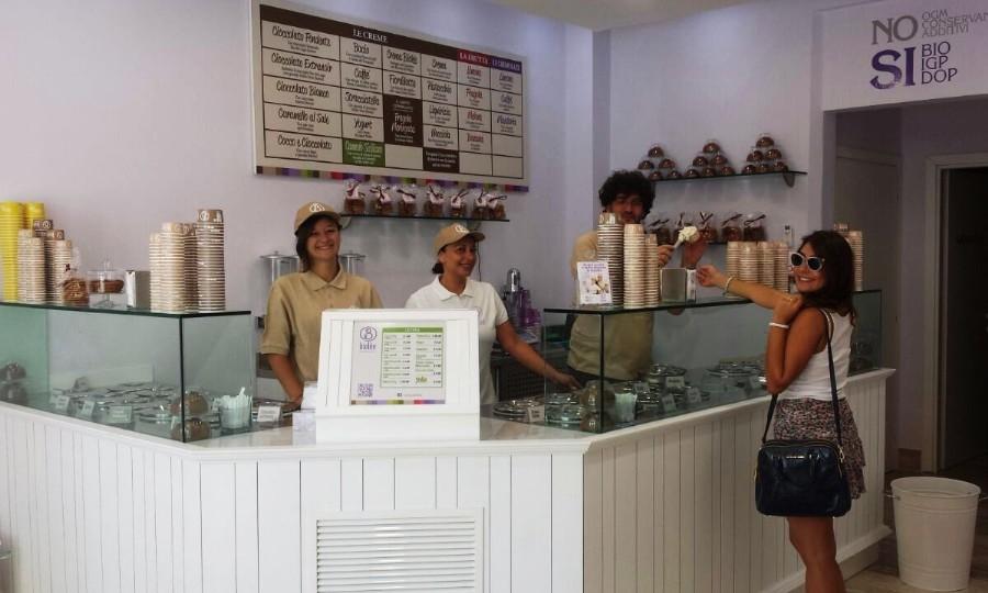 Apre Biolèe, la gelateria artigianale