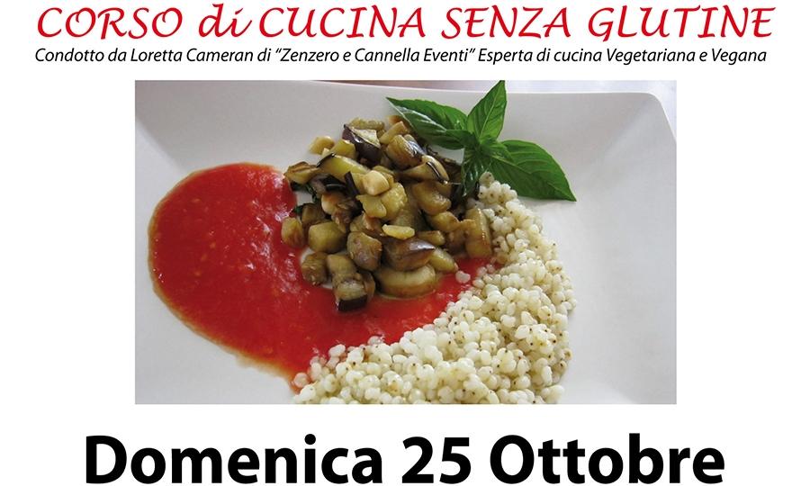 Corso di cucina senza glutine il 25 ottobre al Piccolo Principe