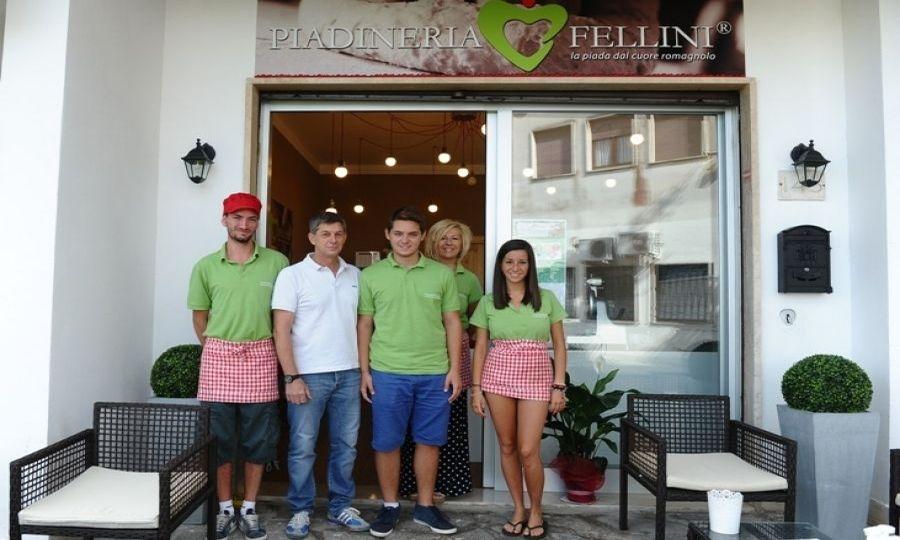 Piadineria Fellini, specialità romagnole