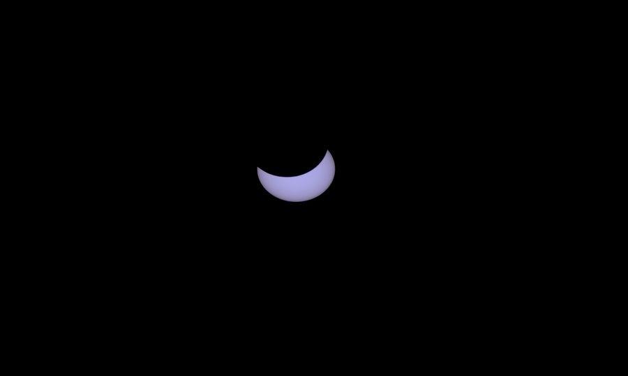 Eclissi di sole, le foto