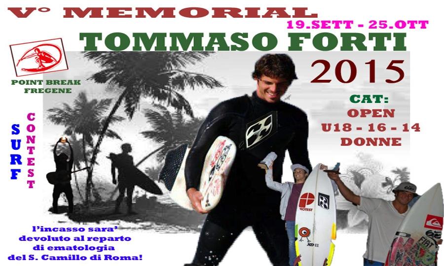 Memorial Tommaso Forti al Point Break