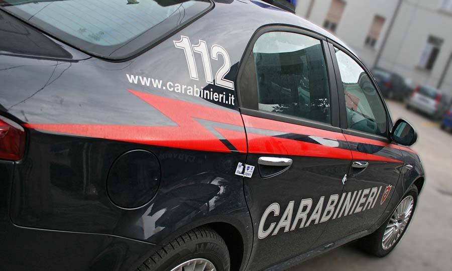 Inseguimento dei Carabinieri, fermato un pregiudicato