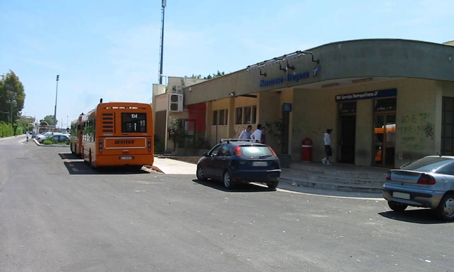 Maccarese-Parco Leonardo, l'odissea in bus