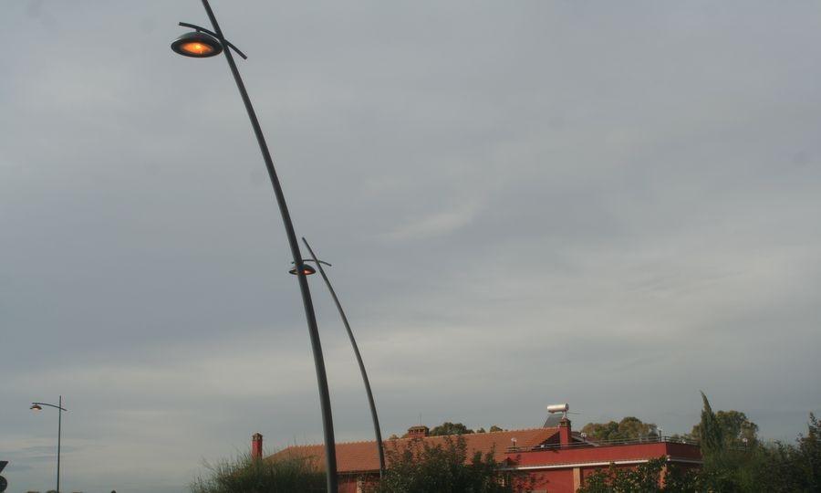 Le luci accese di giorno