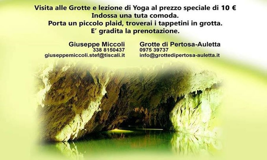 Yoga nella grotte con il Piccolo Principe