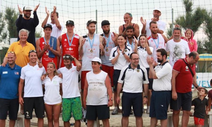 Il grande beach volley al Tirreno