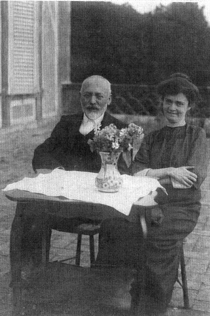 Angelo Celli e Anna Fraentzel