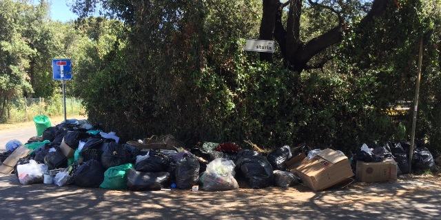 Centro raccolta rifiuti fuori 2