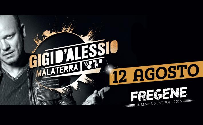 FSF Gigi D'Alessio 12 agosto