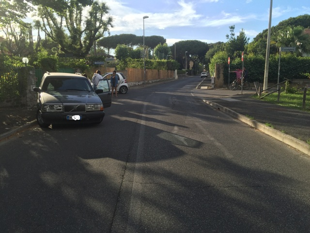 Incidente via Bordighera k