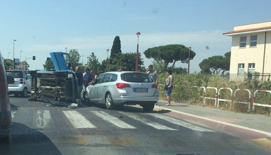 Incidente via della Muratella