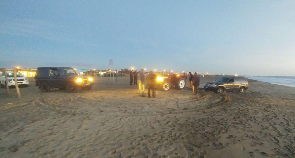 Jeep spiaggia tutto k