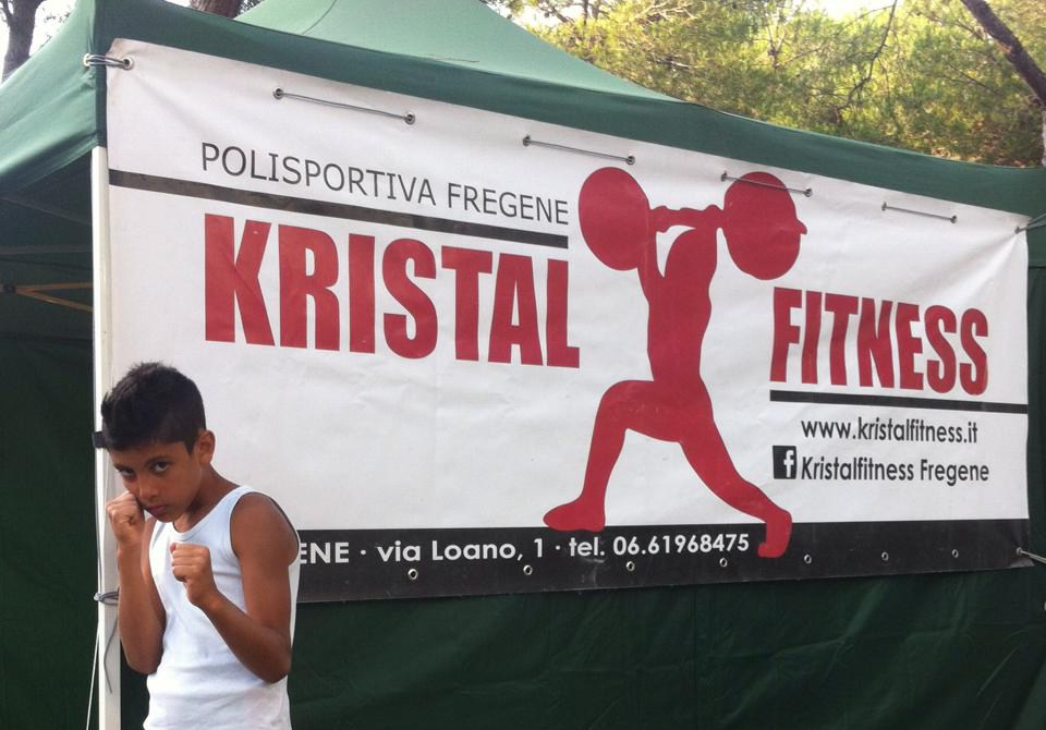 Kristal Fitness copertina
