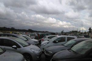Lungomare maccarese auto caos parck