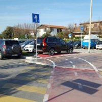 Parcheggio ciclabile villaggio k