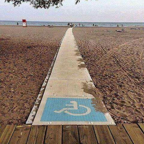 Scivolo disabili
