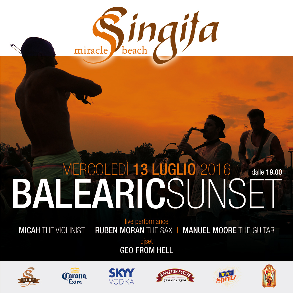 Singita BALEARIC SUNSET