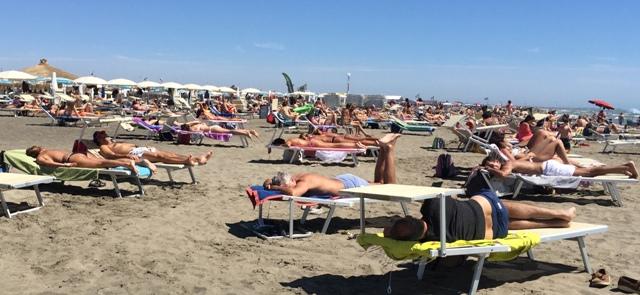 Spiaggia sabato