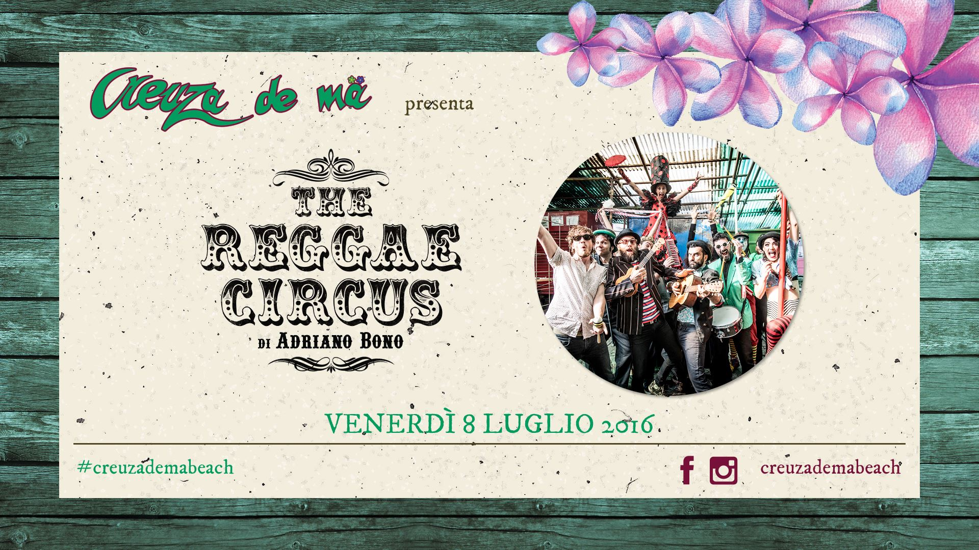 The Reggae Circus_Creuza de Ma 8 luglio