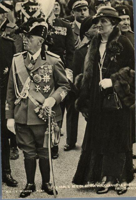Vittorio Emanuele III e Elena di Montenegro k