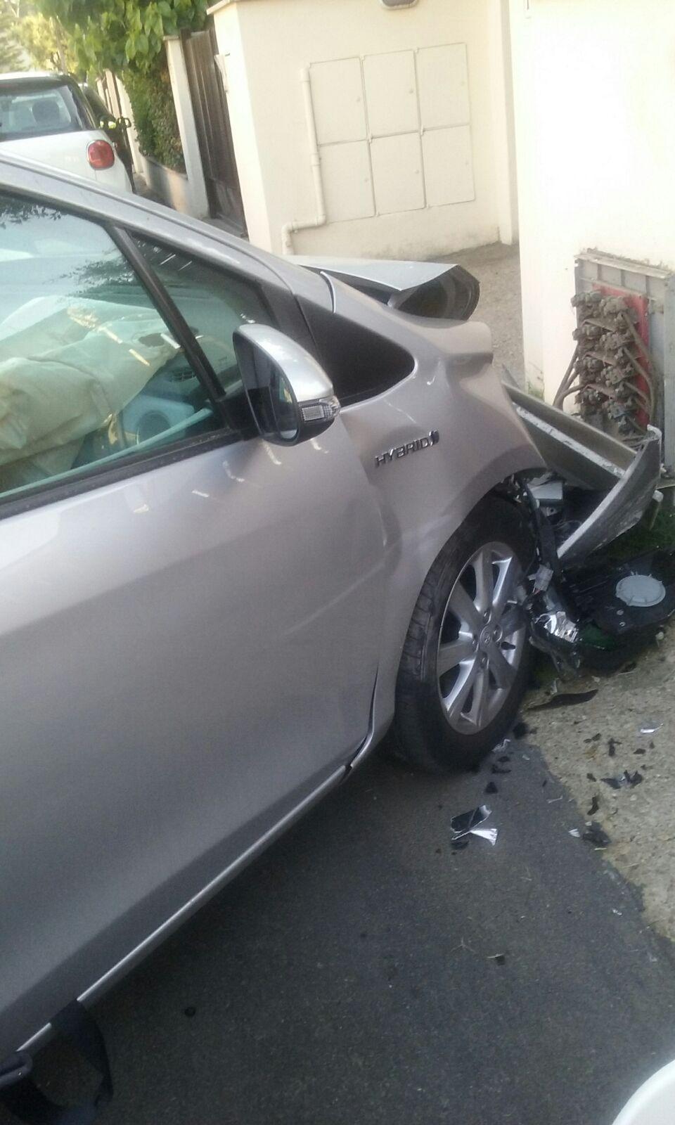 auto incidente
