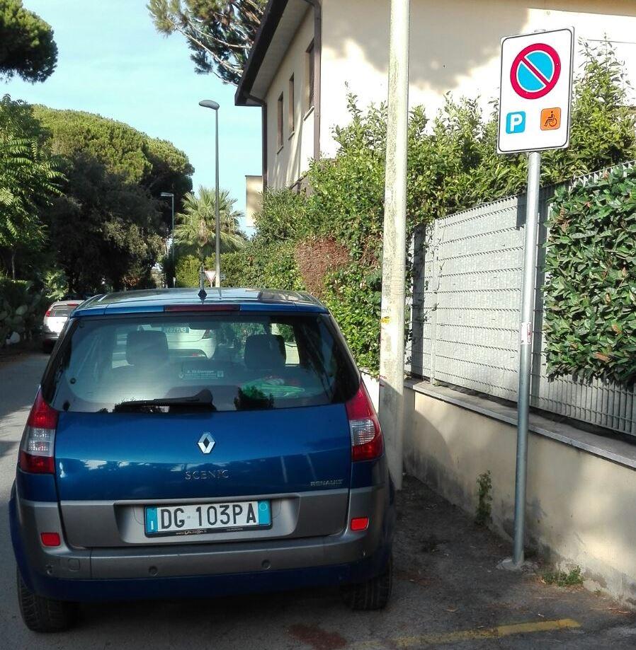 auto park disabili