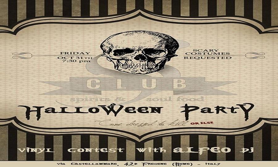 S club, la notte di Halloween