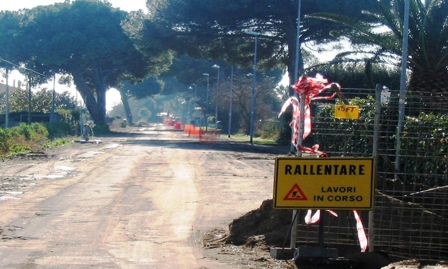 Fogne viale di Porto, i disagi dei pendolari