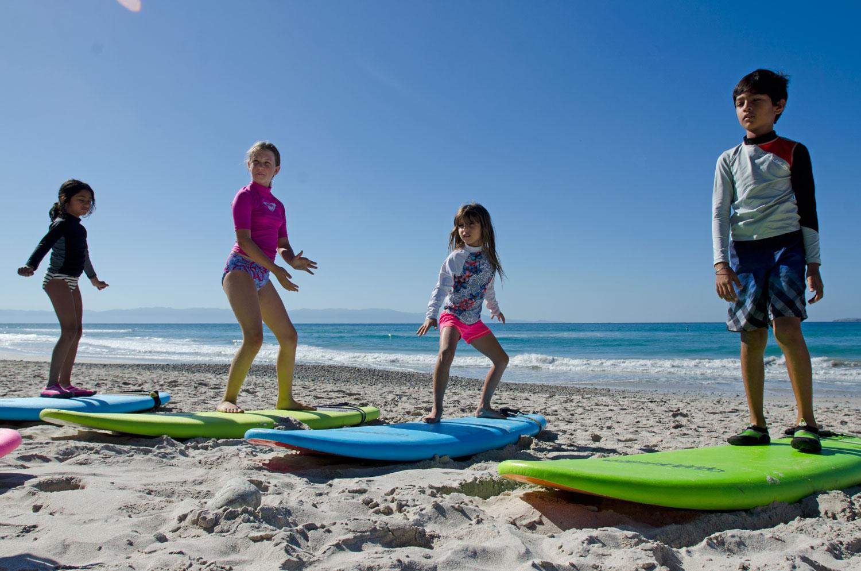 bambini surf