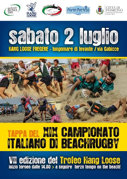 beach rugby Hang Loose