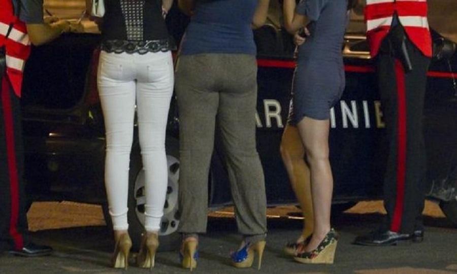 Prostitute, nuova operazione dei Carabinieri