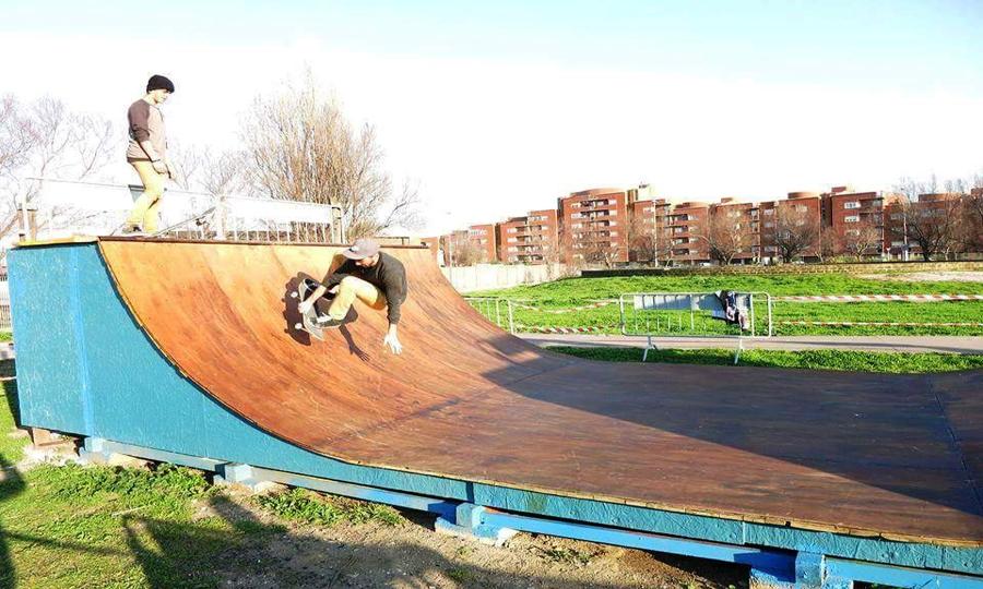 Skate Park apre a Fiumicino