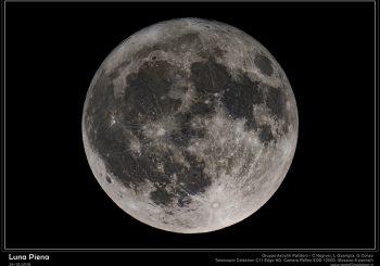 """Bellissima ed enorme la """"luna del cacciatore"""""""