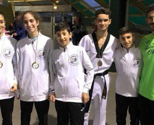 Taekwondo Ostia-Fregene, tre ori e un argento a Santa Marinella