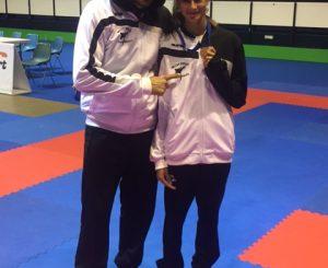 Elena, campionessa di karate
