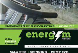 Energym – Super promozione di agosto!
