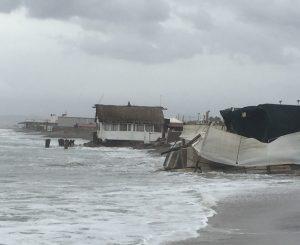 Erosione, Baccini: danno enorme, emergenza non rinviabile